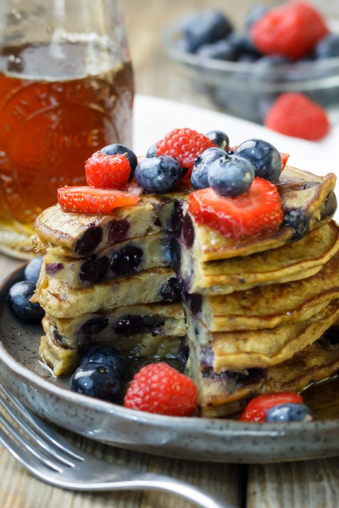Gluten-Free Garbanzo Bean Flour Pancakes Recipe | 683 x 1024 jpeg 134kB