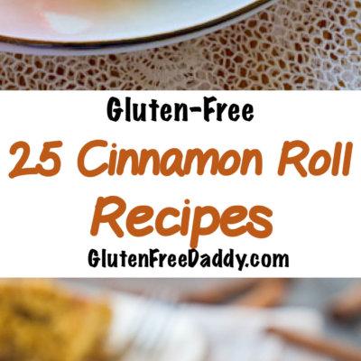 25 Gluten-Free Cinnamon Roll Recipes