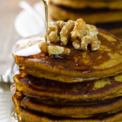 Gluten-Free Quinoa Flour Pumpkin Pancakes Recipe