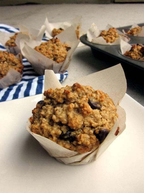 Gluten-Free Peanut Butter Quinoa Oat Muffins Recipe