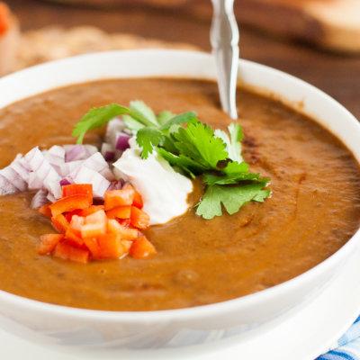 Smoky Black Bean Soup Recipe {Vegan, Clean Eating, Gluten-Free, Dairy-Free}