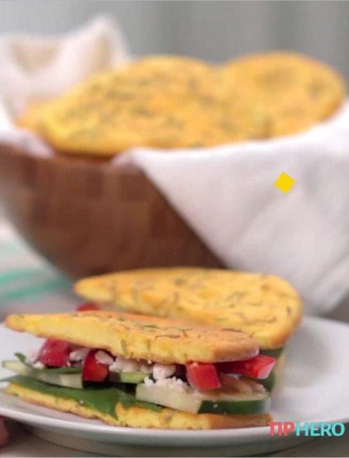 1-Carb Rosemary Cloud Bread Recipe