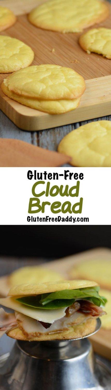 4-Ingredient Gluten-Free Cloud Bread Recipe