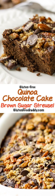 Blueberry Quinoa Cake Recipe Gluten Free